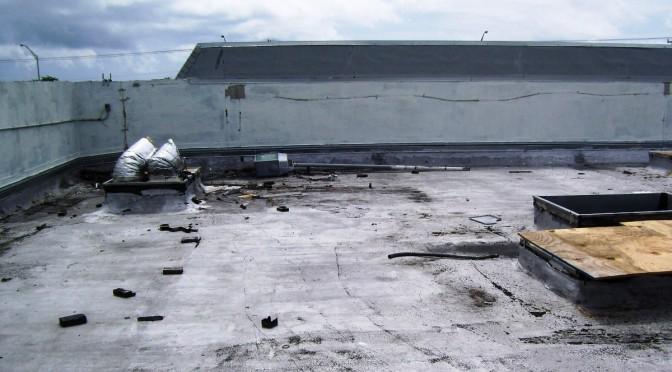 Bad Flat Roof