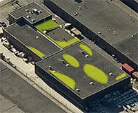 Industrial Flat Roof Aerial Inspections